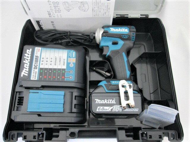 マキタ 18V 充電式インパクトドライバ TD171D [6.0Ah電池1個仕様]