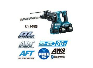 マキタ 18V+18V 28mm充電式ハンマドリル HR282DPG2 [6.0Ah] セット品