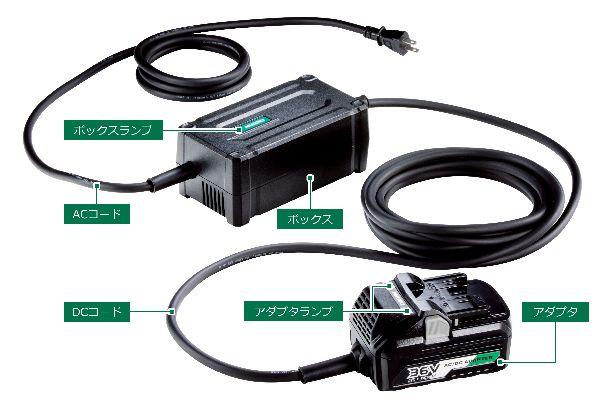HiKOKI(日立工機) AC/DCアダプタ ET36A マルチボルト(36V)
