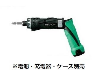 HiKOKI/日立工機 3.6V コードレスドライバドリル DB3DL2(NN) 本体のみ