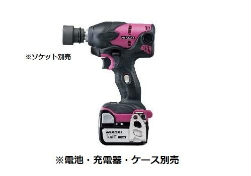 HiKOKI/日立工機 14.4V コードレスインパクトレンチ WR14DSL(NN) 本体のみ