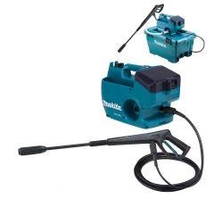 マキタ 18V+18V 充電式高圧洗浄機MHW080DZK [本体+ケースのみ]自吸タンク(収納ケース)50L