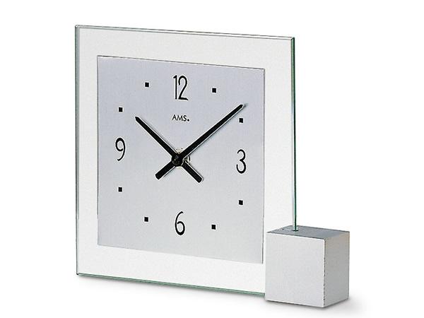 【お得クーポン配布中】 輸入時計【AMS(アームス社ドイツ製).クオーツ置き時計 AMS-102】 【送料無料】人気 おしゃれ ドイツ製 時計 掛け時計 置時計 クラシック 時計 モダン 時計 ヨーロッパ時計 ヘルムレ アンティーク時計