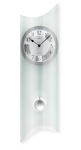 輸入時計【AMS(アームス社ドイツ製).壁掛けクオーツミネラルグラス時計 AMS-7324】 ドイツ製 時計 掛け時計 置時計 クラシック 時計 モダン 時計 ヨーロッパ時計 ヘルムレ アンティーク時計