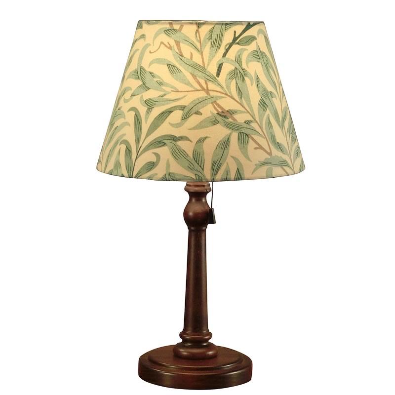 【お得クーポン配布中】 ウィリアムモリス 【テーブルランプ】『ウイローボウ』Willow Bough (1887)【送料無料】照明器具 アンティーク家具 おしゃれランプ 輸入 照明