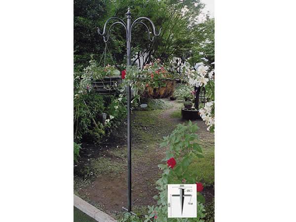 エクステリア【フラワーハンガーB型】エクステリア ガーデニング ガーデン 庭 ヨーロッパ 庭 アンティーク家具 フェンス プランター