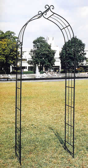 エクステリア【ガーデンアーチD型】エクステリア ガーデニング ガーデン 庭 ヨーロッパ 庭 アンティーク家具 フェンス プランター