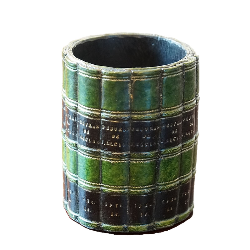 ペン立て ブック型 置物 ペン立て おしゃれ イギリス製 ペン立て アンティーク 雑貨 インテリア 雑貨 インテリア 置物 ヨーロッパ雑貨 アンティーク雑貨 インポート雑貨