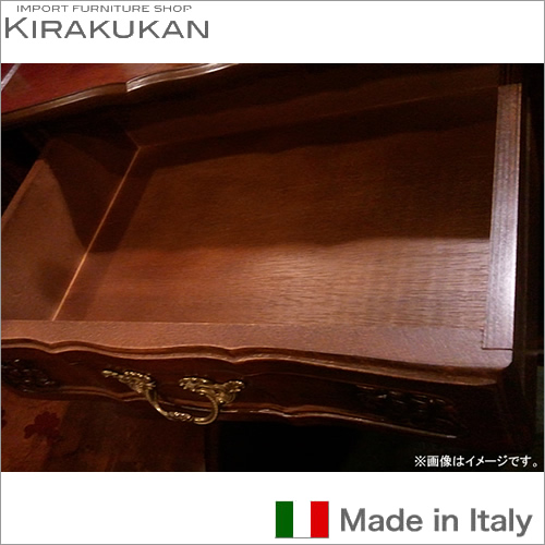 イタリア家具:クラウディオ4段チェスト