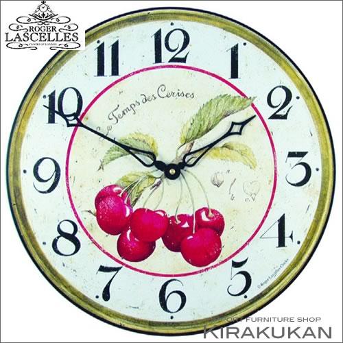 イギリス製【ロジャー・ラッセル時計【pub-cherries】 【送料無料】人気 おしゃれブランド モダン 時計 アンティーク 時計 輸入時計 クラシック 時計 掛け時計 ヨーロピアン時計 インテリア雑貨