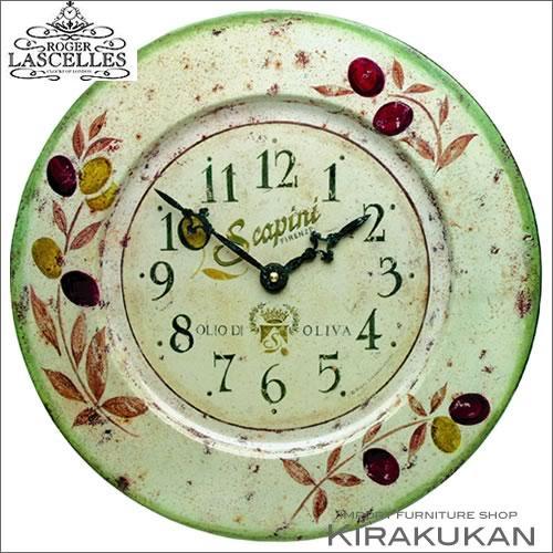 イギリス製【ロジャー・ラッセル時計【tin-olives】【送料無料】人気 おしゃれ ブランド モダン 時計 アンティーク 時計 輸入時計 クラシック 時計 掛け時計 ヨーロピアン時計 インテリア雑貨