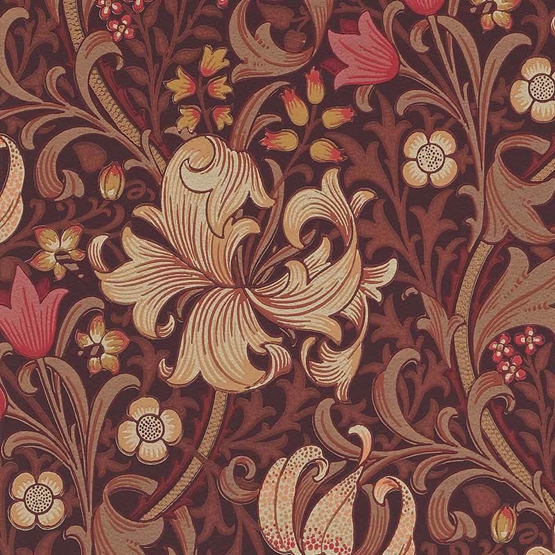 【お得クーポン配布中】 ウィリアムモリス 壁紙【ゴールデン リリー Golden Lily】おしゃれ 壁紙 ウォールペーパー クロス 輸入壁紙 イギリス製 アンティーク 壁紙 植物 ボタニカル インテリア 本物 Morris【g-l-210402】