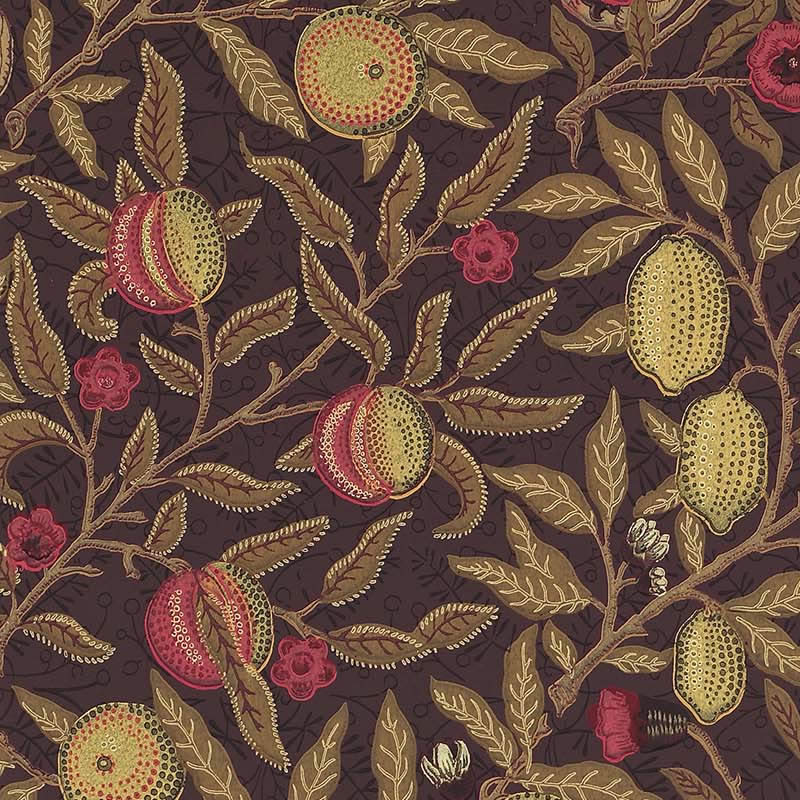 【お得クーポン配布中】ウィリアムモリス 壁紙【フルーツ Fruit】【送料無料】おしゃれ 壁紙 ウォールペーパー クロス 輸入壁紙 イギリス製 アンティーク 壁紙 植物 ボタニカル インテリア 本物 Morris【f-210397】