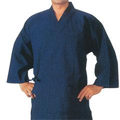 藍染作務衣 M/L/LLサイズ ※ゆうパケット不可