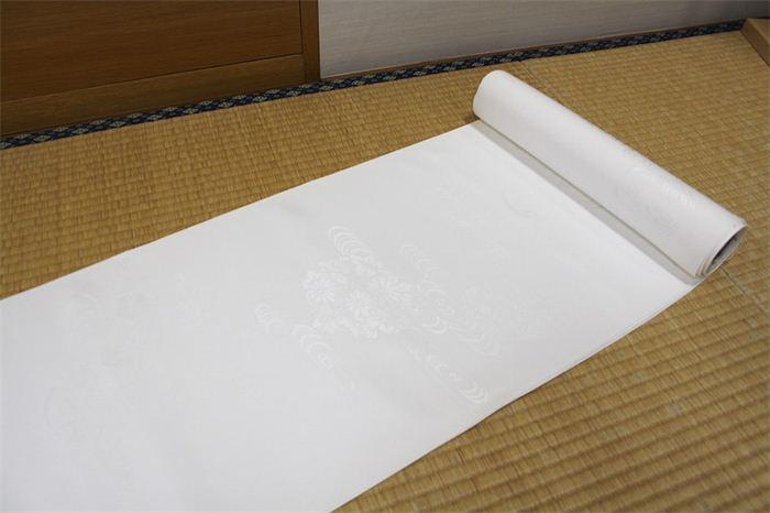 白 長襦袢 未仕立 R21004-jyuban-5 30469【別L】 ※ゆうパケット不可