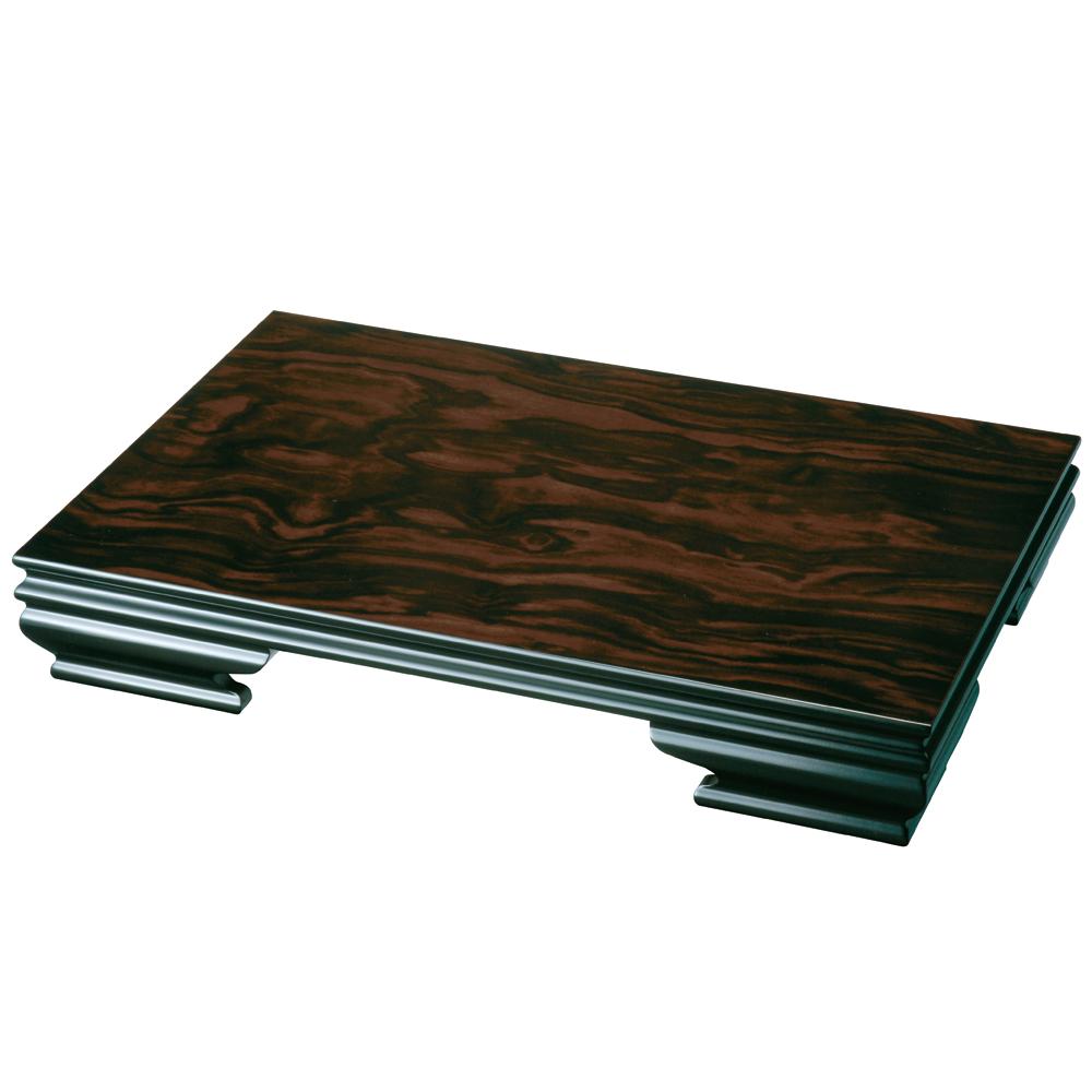 花台 54cm 木製 みやび 黒檀調