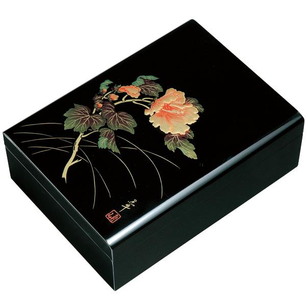 木製 合口文庫 紀の花 33cm (書類入れ、書類整理)