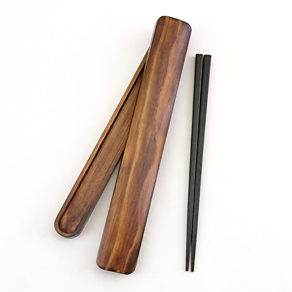 お箸セット お箸 箸箱 セット おはし おしゃれ 箸入れ 箸ケース お弁当 【10%OFF】お箸・箸箱セット 木製 漆塗り