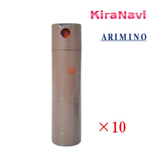 アリミノ ピース (ARIMINO PEACE) ピース ワックススプレー 200ml 10本セット (カフェオレ)