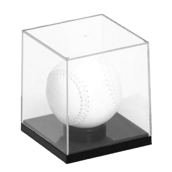 透明プラスチックケース ソフトボールケース 開店記念セール ☆新作入荷☆新品 UVカット 展示ケース コレクションケース