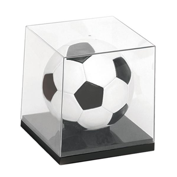 5号球がぴったり収納できます 送料無料 サッカーボールUVカット展示ケース 2020秋冬新作 保障 コレクションケース