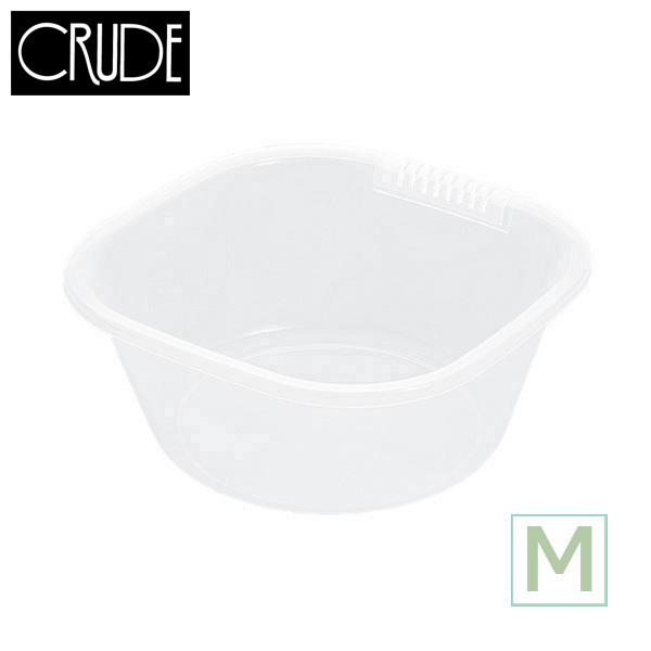 新商品 新型 肉厚で丈夫な洗い桶です クルード 海外限定 洗桶M