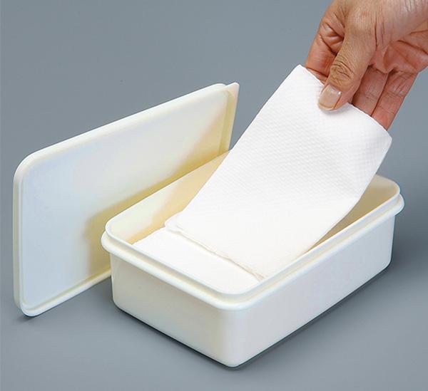 密閉容器でシートが乾燥しにくいですシートの取り出しが簡単 トイレ用除菌シートケース 最新 100 訳あり品送料無料