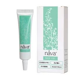nava ナーバ ネイルジェル 爪が割れやすい 乾燥する オリジナル 薄い 並行輸入品 縦筋にも効果あります