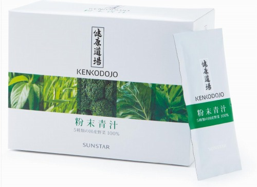 【あす楽対応】健康道場・粉末青汁 300g(10g×30袋) 【サンスター】