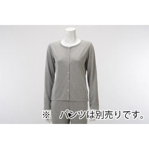 【竹布特典】TAKEFU カーディガン(Lady's) グレー Lサイズ