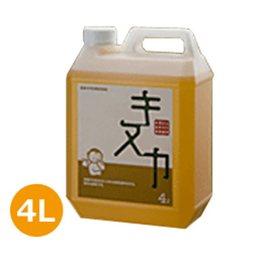 【あす楽対応】自然塗料 キヌカ (4L) 日本キヌカ株式会社【オイルフィニッシュ】