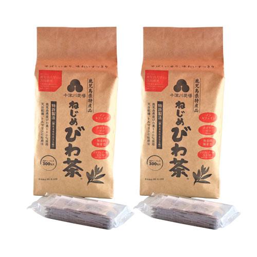 十津川農場 ねじめびわ茶300 (2gティーバック 300包入)×2箱セット