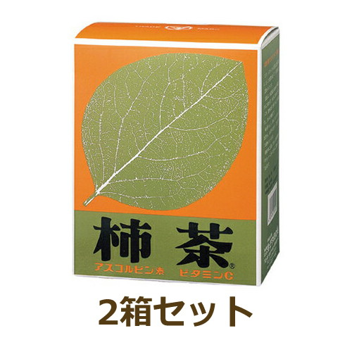 柿茶(ティーバックタイプ)4g×96袋 2箱セット+バイオノーマライザー9袋+西式取材資料付(初回のみ)【あす楽対応】