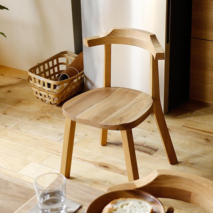 ダイニングチェアー Aki(アキ) ダイニングチェア ダイニングチェアー チェアー チェア 食卓 キッチン 椅子 イス 木製 ダイニング 国産 日本製 無垢材
