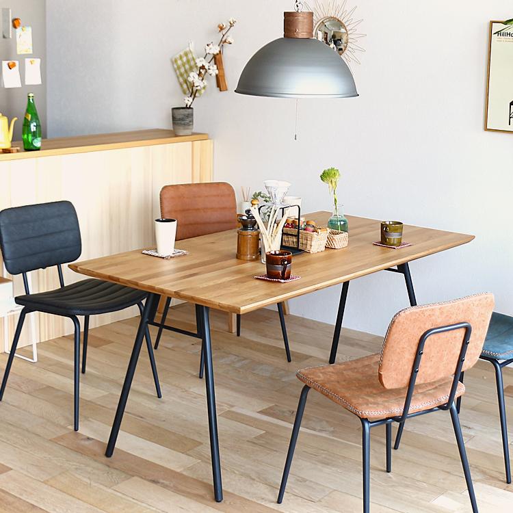ダイニングテーブル BEEG(ビーグ)150cmタイプ ダイニング テーブル ダイニングテーブル キッチン 食卓 木製 4人 テーブル 食卓テーブル 北欧 西海岸 モダン カフェ 男前 インテリア 150 150cm ヴィンテージ