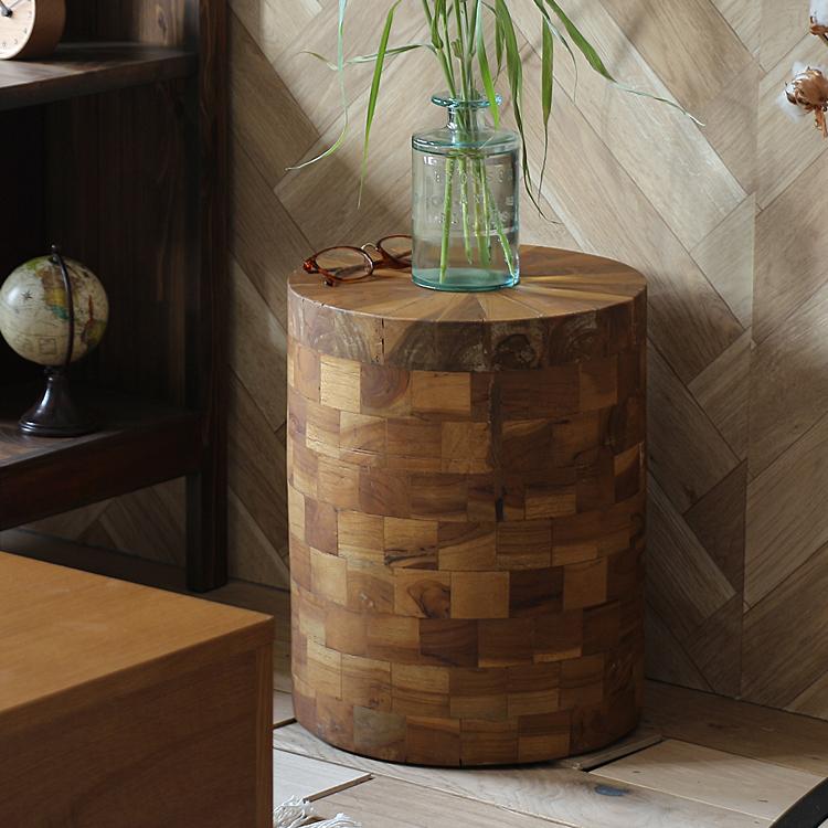 ウッドスツール DOM(ドム) スツール 椅子 ウッドスツールイス オットマン 花台 サイドテーブル ナイトテーブル 木製 ウッドスツール 北欧 モダン ヴィンテージ ビンテージ ミッドセンチュリー西海岸 ナチュラル シンプル