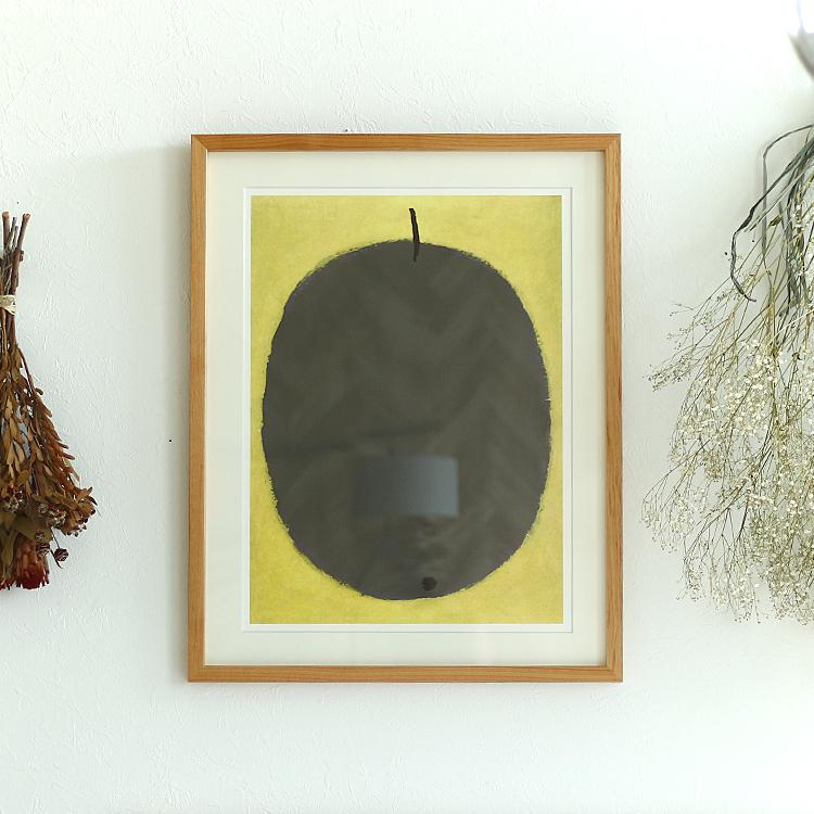 アートポスター Paul Klee (パウル・クレー) Fruit negre 1934 インテリア 絵 絵画 アート アートポスター アートパネル アートフレーム 玄関 額入り 壁掛け おしゃれ ウォール Fruit negre フルーツネーグル Paul Klee パウル・クレー