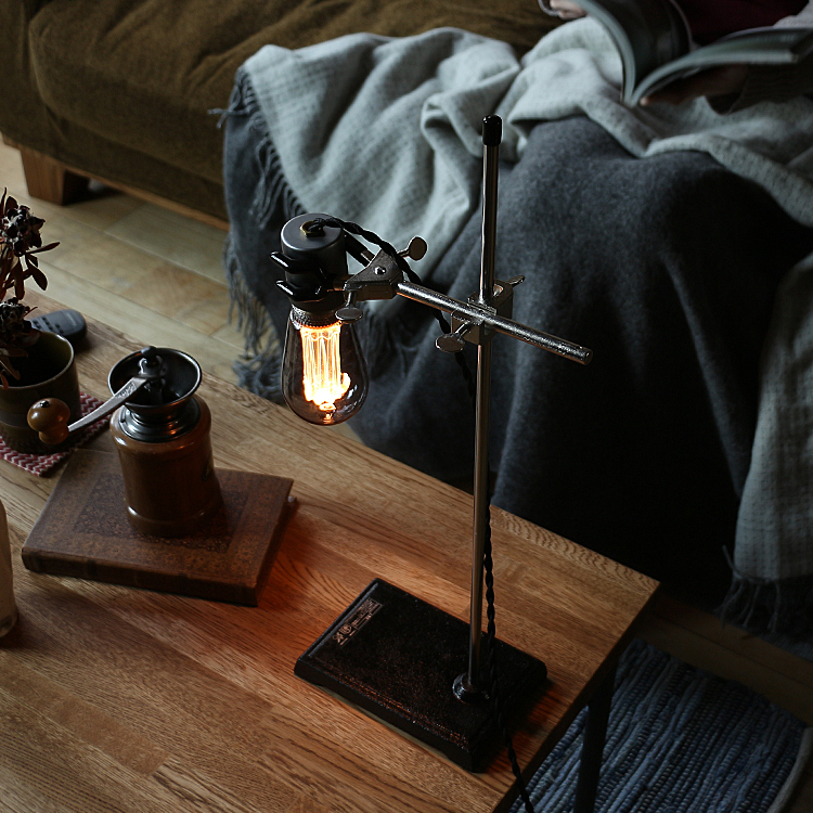 数量限定セール  デスクライト Norsk joint joint Light(ノルスクジョイントライト) 照明 間接照明 床 デスクランプ 西海岸 カフェ Light モダン 北欧 ナチュラル ベッドサイド リビング カフェ Norsk joint Light ヴィンテージ ガレージ インダストリアル 実験器具, フチュウチョウ:f282c567 --- kanvasma.com