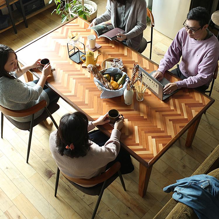 ダイニングテーブル RAKAS(ラカス)180cmタイプ ダイニングテーブル テーブル 食卓テーブル 食卓 長方形テーブル 机 四角 長方形 180cm 4人 6人 ダイニング キッチン 木製 北欧 ナチュラル 食卓 木製テーブル ブラウン