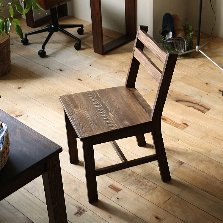 ダイニングチェア SOME(サム) ダイニングチェア ダイニングチェアー チェアー チェア 食卓 キッチン 椅子 イス ブラウン 北欧 木製