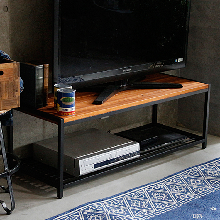 ローボード Brick(ブリック)幅113cmタイプ テレビ台 113cm 113 テレビボード テレビラック ローボード 収納 TV台 TVボード 木製 ヴィンテージ ビンテージ アイアン brick ブリック