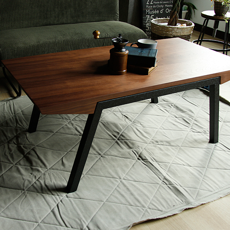 センターテーブル Rekit(レキット) センターテーブル 幅117 ローテーブル リビングテーブル テーブル 収納 木製 アイアン ヴィンテージ ビンテージ ブラウン インダストリアル 新生活
