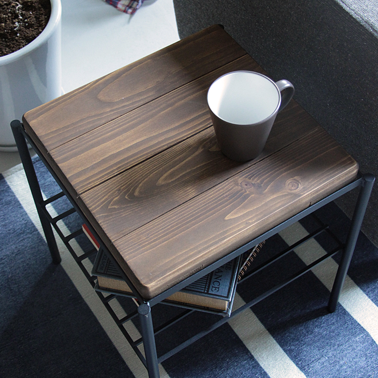 KeLT(ケルト) サイドテーブル サイドテーブル サイドチェスト 北欧 パイン 無垢材 アンティーク レトロ ヴィンテージ ビンテージ スツール 収納付き ケルト KeLT アイアン カフェテーブル 新生活