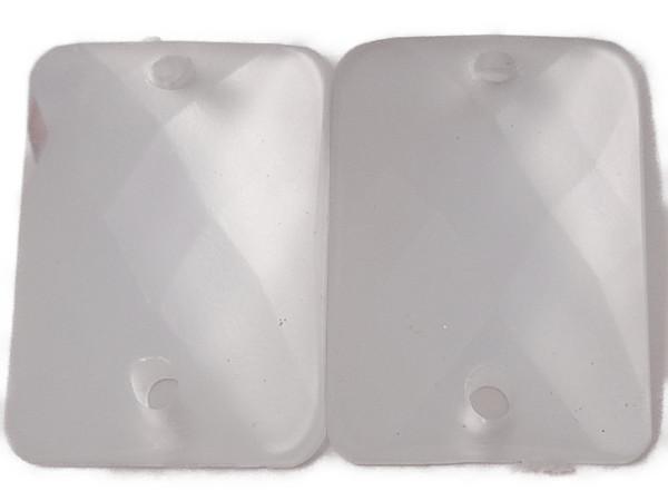 縫い付け キラキラ デコパーツ 市場 アクセサリー ストーン 透明 クリア 長方形 オクタゴン メール便可 ソーオン sew on あす楽 1.2×1.8cm_6個入り 送料無料 ソーオンストーン パーツ No506ビジュー 手芸用 アクリルビーズ 優先配送 四角 つや消し加工 クリスタル ラインストーン