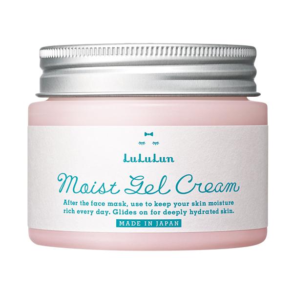化粧水のうるおい成分をしっかり肌に閉じ込めるジェルのようにぷるぷるな保湿クリーム ルルルン デポー モイストジェルクリーム 保湿タイプ ギフト対応可 正規品 本日限定 LuLuLun