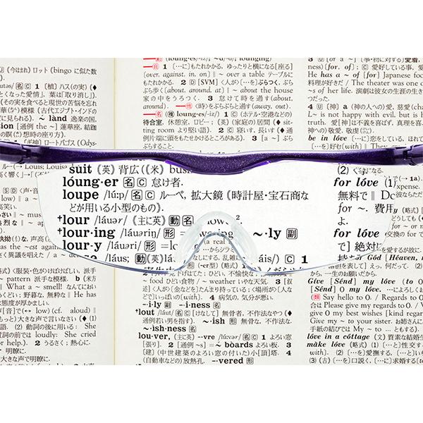 【ポイント最大35倍】ハズキルーペ ラージ クリアレンズ 1.85倍 <HAZUKI/ハズキ> 【正規品】