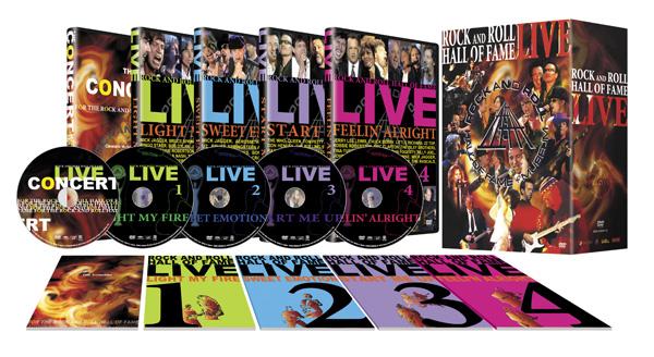 通販限定 DVDセット 送料無料 在庫アリ 即納 P10 割引クーポン使えます ロックの殿堂DVD ROCK あす楽対応 5枚組 デポー HALL 祝日 代引き手数料も無料 ROLL FAME AND DVD-BOX OF