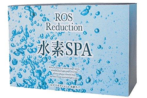 【お得な6箱セット☆送料無料】ロスリダクション 水素SPA (50g×5包) トップクラスの高濃度水素入浴剤