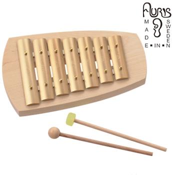 アウリス シェルズグロッケン ペンタトニック7音 AUKAP007[楽器 おもちゃ こども 北欧 スウェーデン 木製 グロッケン プレゼント・ギフトおもちゃ 男の子 女の子 子ども]【即納】