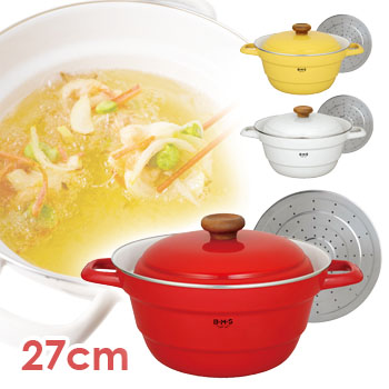 Bed Base Featured In The Cute All Purpose Pot Beams Series Bms Fuji Enamel Gas And Induction Simple Stylish Enameled Both Pots Kitchen Accessories